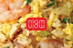Niam Niam fried rice with shrimps